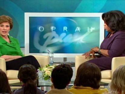 VIDEO: The former first lady sits down with Oprah Winfrey.