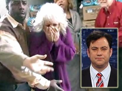 VIDEO: Jimmy Kimmel puts TV chef Paula Deens food mishap to music.