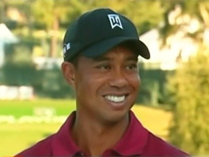 VIDEO: Jimmy Kimmel jokes about Tiger Woods.