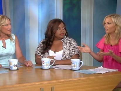 VIDEO: The View talks about Sandra Bullocks kiss with Scarlett Johansson.