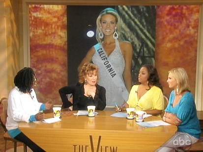VIDEO: The View discusses Miss Californias nude photos.