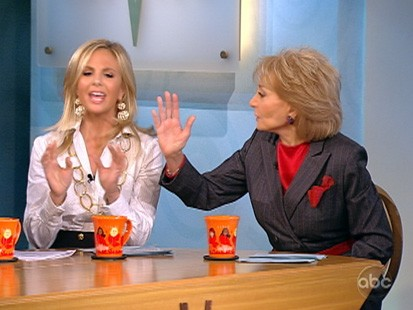 VIDEO: The View discusses President Obamas stimulus spending.