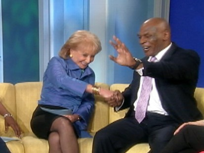 VIDEO: Barbara Walters interviews Mike Tyson on The View.