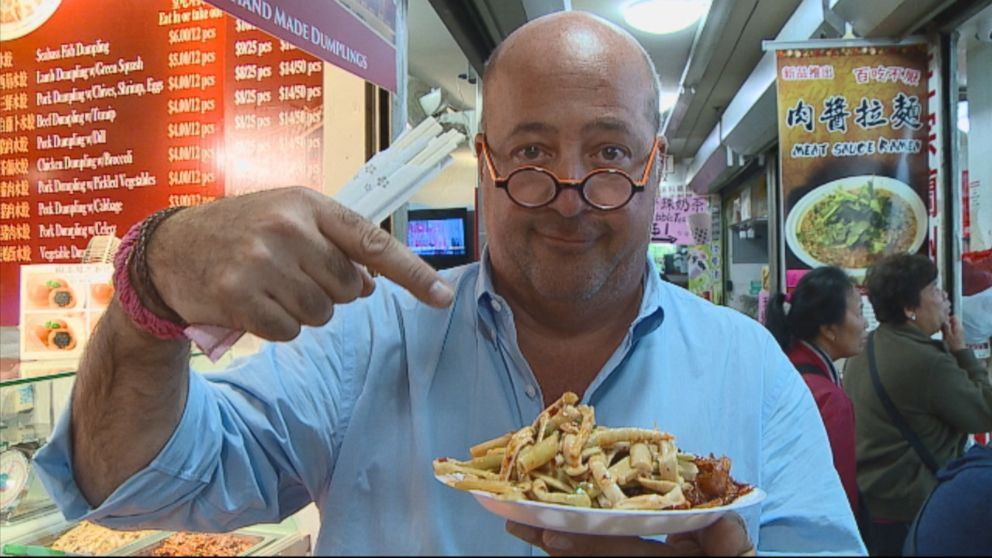 5 Things You Didnt Know About Bizarre Foods Andrew Zimmern Abc News