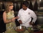 VIDEO: Tabla exec chef Floyd Cardoz combines fruit with zesty freshness.