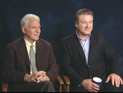 """VIDEO: Alec Baldwin and Steve Martin talk about making """"Its Complicated."""""""