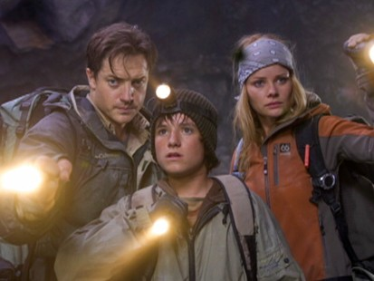 Brendan Fraser in Journey to the Center of the Earth
