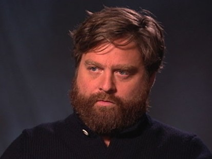 VIDEO: Actor Zach Galifianakis has a disdain for certain people in his field.