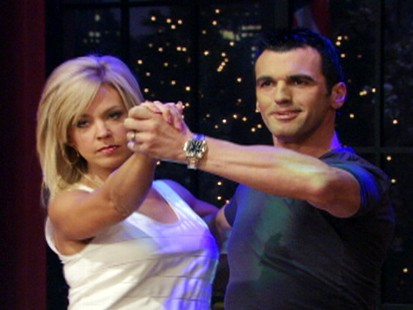"VIDEO: Kate Gosselin takes her tango to ""Live! With Regis and Kelly."""