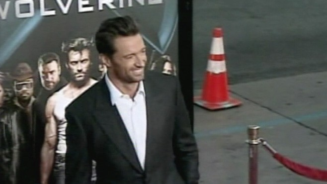 """VIDEO: Aussie actor consumes 6,000 calories a day in preparation for """"Wolverine."""""""