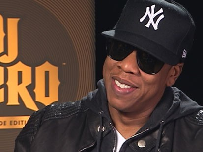"VIDEO: Jay-Z talks about his video game, ""DJ Hero."""