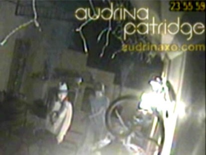 VIDEO: Audrina Patridge released surveillance video of her home being robbed.