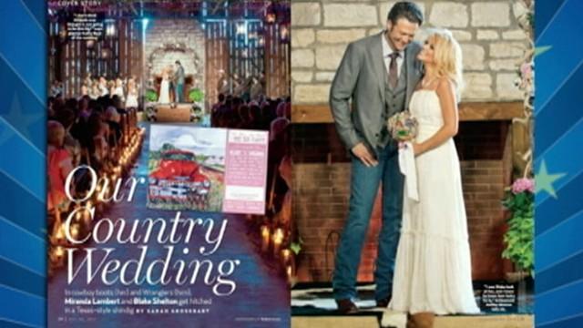 Blake Shelton And Miranda Lambert Wedding.Blake Shelton And Miranda Lambert S Country Wedding
