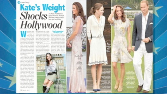 """VIDEO: Dawn Yanek of """"Life and Style Weekly"""" analyzes the duchess shrinking figure."""