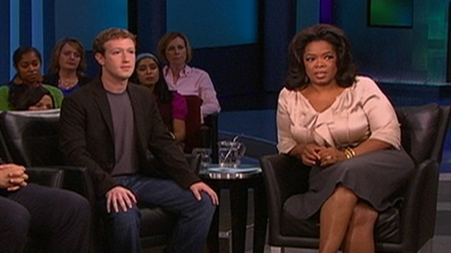 Image result for zuckerberg on oprah winfrey show