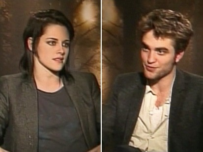 VIDEO: Robert Pattinson, Kristen Stewart and Taylor Lautner talk about New Moon.