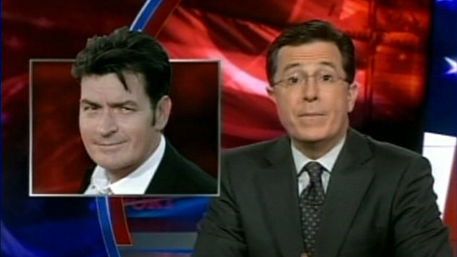 VIDEO: The late-night talk show hosts aim their jokes at Charlie Sheen.
