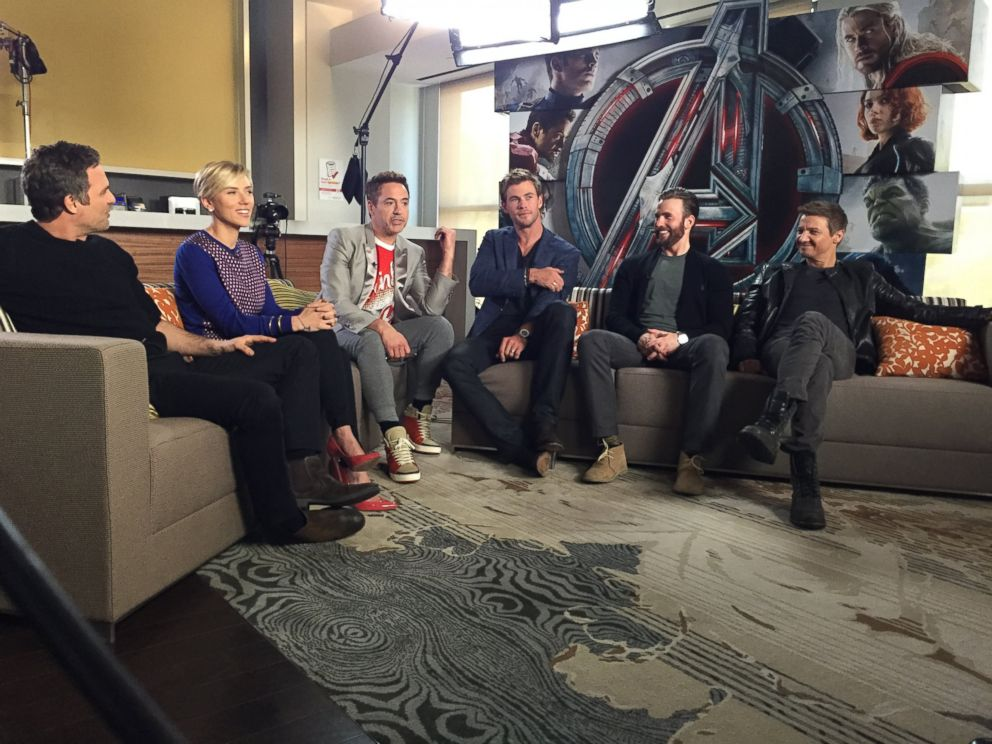 How 'Avengers: Age of Ultron' Cast Rallied Around Pregnant