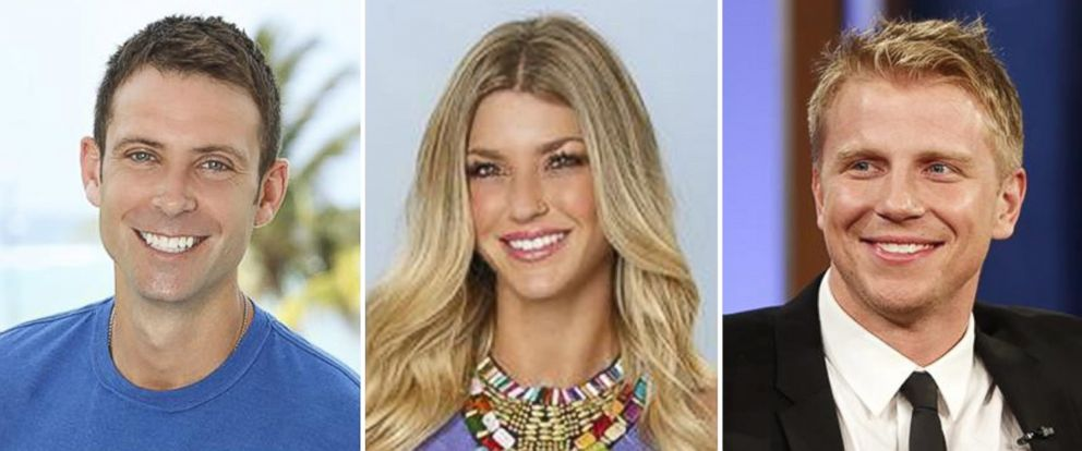 """PHOTO: Graham Bunn, AshLee Frazier, and Sean Lowe from ABCs """"The Bachelor."""""""