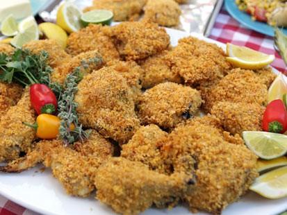 Herbed Buttermilk Not Fried Chicken Recipe Abc News