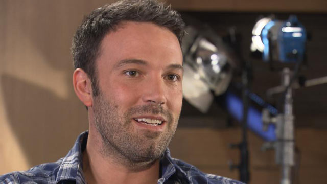 "PHOTO: Ben Affleck talks with ""Nightline"" about ""Argo,"" a film about the Iran hostage crisis."