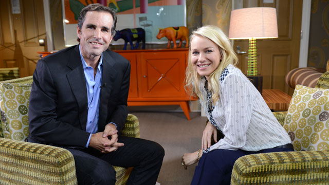 "PHOTO: ABCs Bob Woodruff sat down with actress Naomi Watts to talk about how she prepared for her role in ""The Impossible."""