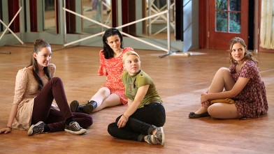 """PHOTO: A scene from the ABC Family series """"Bunheads,"""" airing June 11, 2012."""