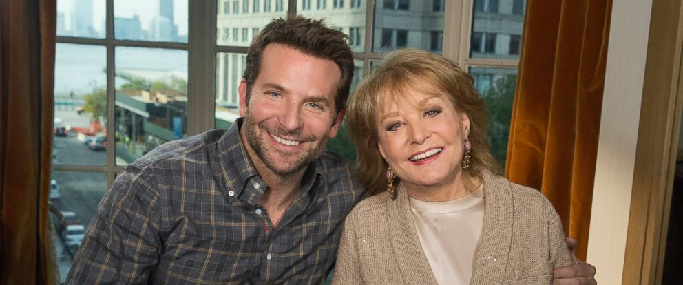 """Barbara Walters talks to Bradley Cooper for the ABC News special, """"Barbara Walters Presents: The 10 Most Fascinating People of 2015."""""""