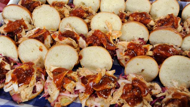 PHOTO: Rachael Ray's Chicken BBQ Sliders.