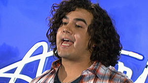 PHOTO Chris Medina, from Oak Forest, Illinois, near Chicago floored the judges with his incredible audition on American Idol, which aired Jan. 26, 2011.