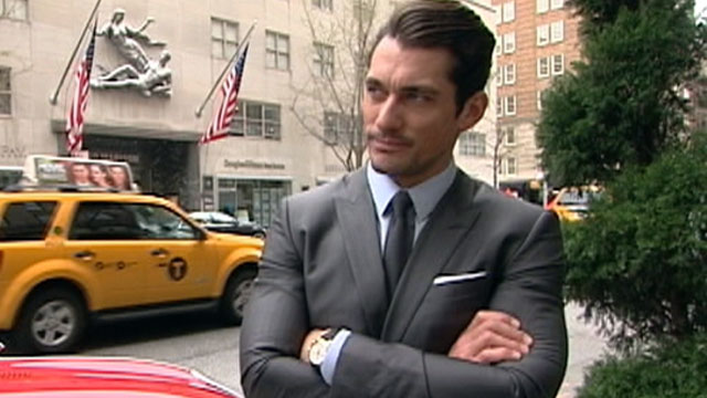 PHOTO: As the face of Dolce & Gabbana and Lucky Jeans, David Gandy is arguably one of the most successful male supermodels in the world.