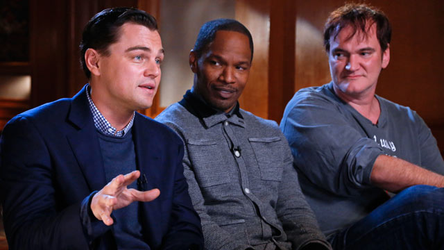 "PHOTO: ""Nightline"" anchor Cynthia McFadden talked with ""Django Unchained"" director Quentin Tarantino and its stars Leonardo DiCaprio and Jamie Foxx about their latest film."