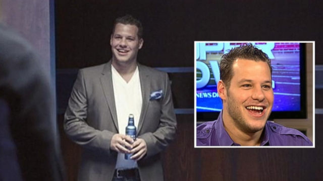 Bud light super bowl commercial 2014 interview with ian rappaport bud lights star discusses his surprise life changing night aloadofball Choice Image