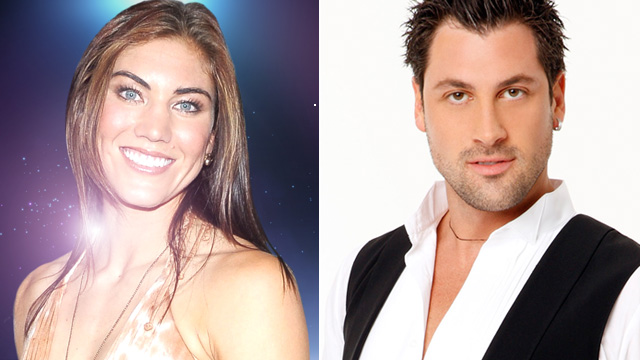 PHOTO: Hope Solo and Maksim Chmerkovskiy