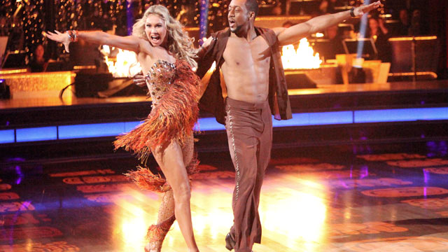 PHOTO: Kym Johnson and Jaleel White perform on Dancing with the Stars on ABC.