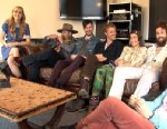 PHOTO: Edward Sharpe and the Magnetic Zeros in New York City, 2012.