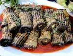 PHOTO: Mario Batalis eggplant rollatini is shown here.
