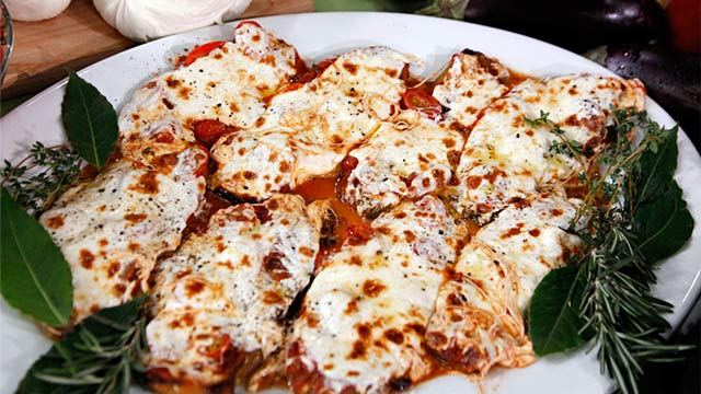 PHOTO: Eggplant Parmesan