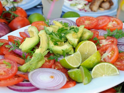 recipe: avocado tomato salad lemonade [21]
