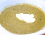 PHOTO: Emerils sweet pea soup