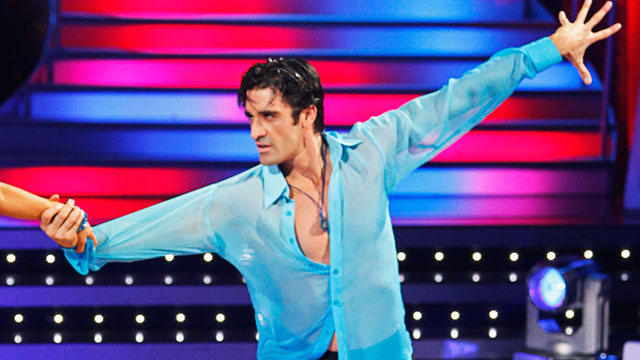 """PHOTO: Gilles Marini competes in """"Dancing With The Stars"""", May 4, 2009."""