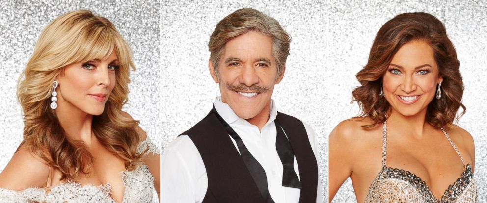 "PHOTO: Marla Maples, Geraldo Rivera and Ginger Zee will join the rest of the stars and grace the ballroom floor for the first time during the season premiere of ""Dancing with the Stars,"" on March, 21, 2016, at 8 p.m. on the ABC Television Network."