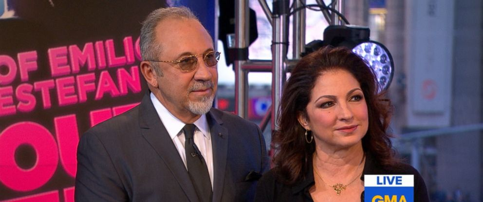 "PHOTO: Gloria Estefan chats about her recently opened musical ""On Your Feet."""