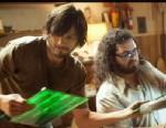 "PHOTO: Steve Wozniak, Apple co-founder, engineer of original Mac discusses his reaction to new film ""jOBS."""