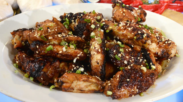 PHOTO: Guy Fieri's firecracker wings are shown here.