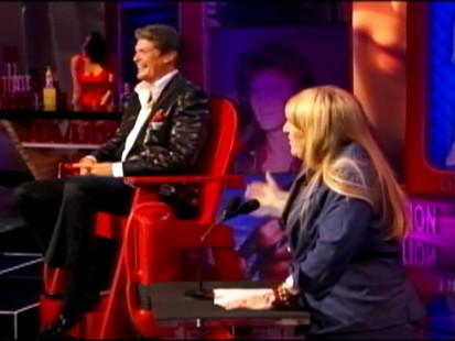 VIDEO: Lisa Lampanelli jokes about Hasselhoff as part of the Comedy Central roast.