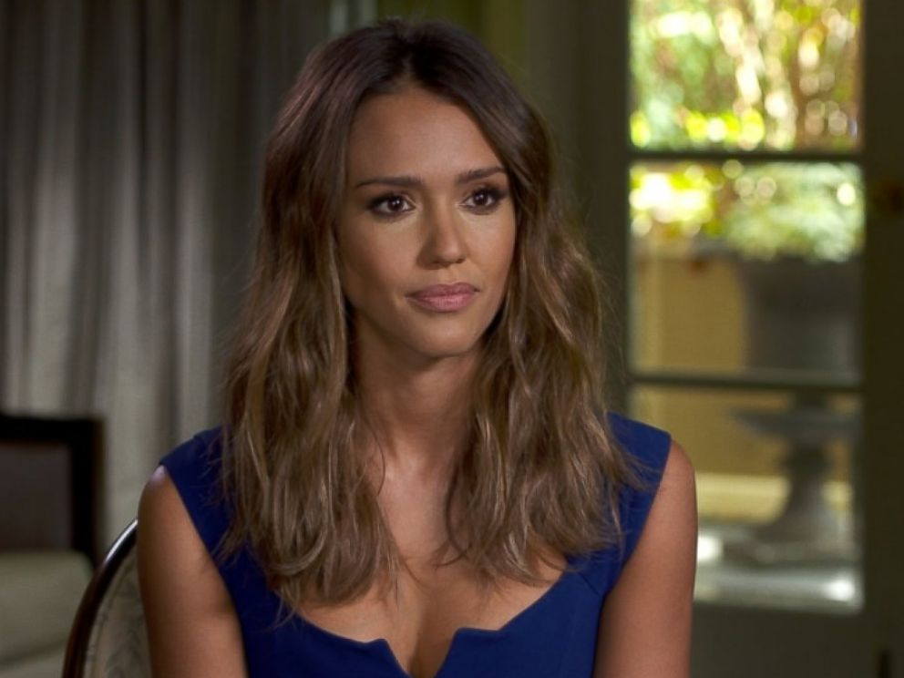 PHOTO: Jessica Alba sat down for an interview with Nightline to discuss her role in Sin City: A Dame to Kill For.