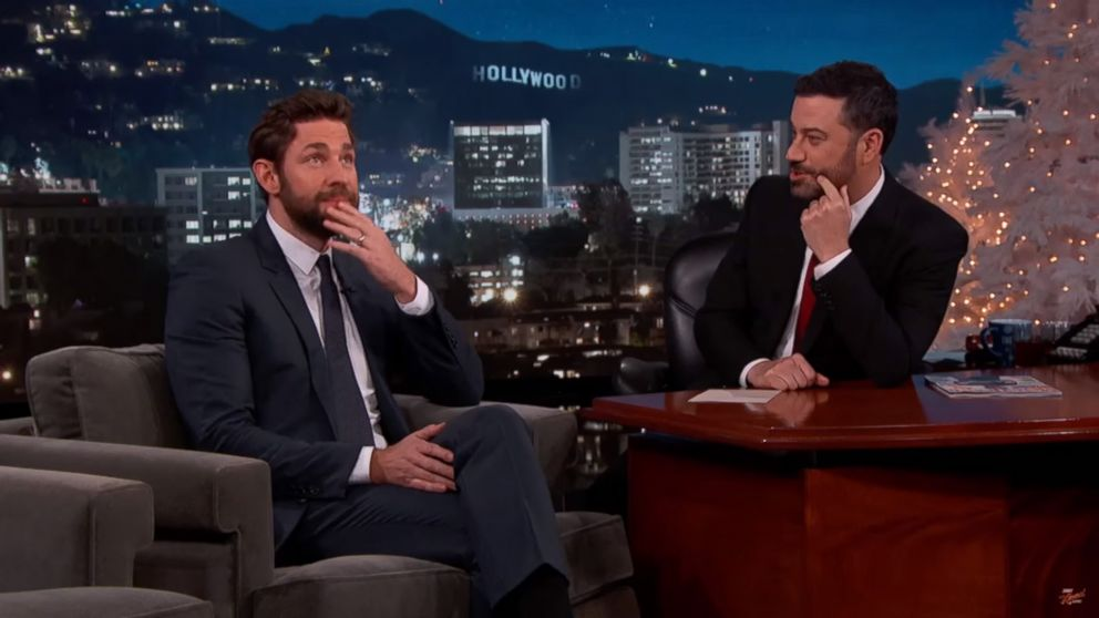 Jimmy Kimmel and John Krasinski\'s Christmas Prank War Continues ...