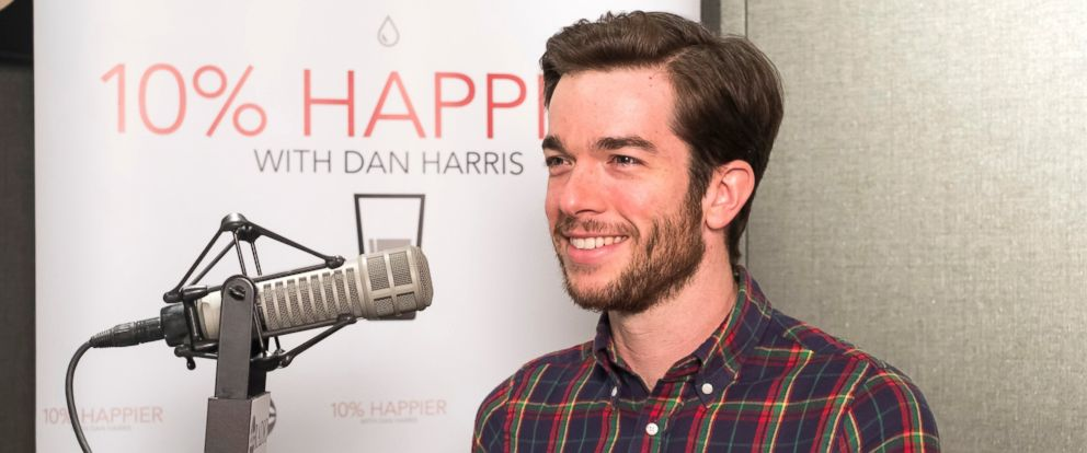 """John Mulaney sat down with ABC News Dan Harris for his """"10% Happier"""" podcast."""