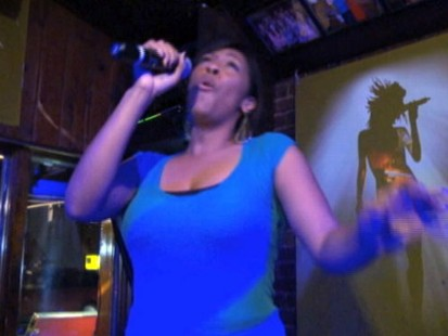 VIDEO: New Years resolution helped this singer make her way to the microphone.